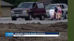 Video shows man tased in Caledonia road rage incident [Video]