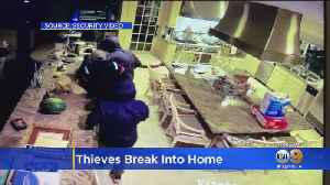 Security Camera Catches Trio Of Burglars In The Act As Homeowners Slept [Video]