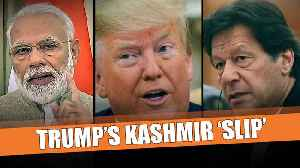 Opinion: Can Trump act on his Kashmir 'slip' or mere words to appease Pak? [Video]
