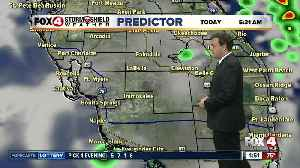 Forecast: Morning showers along the coast are possible with mainly inland afternoon storms [Video]