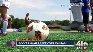 Youth and professional soccer take over KC area this week [Video]