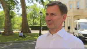 Jeremy Hunt 'disappointed' at leadership contest loss [Video]