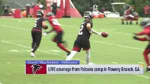 Tiffany Blackmon: Atlanta Falcons head coach Dan Quinn expects wide receiver Calvin Ridley to 'take the next step' in 2019 [Video]