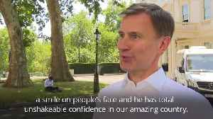 Jeremy Hunt: Boris will be a great Prime Minister [Video]