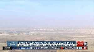 California Health: Bakersfield ranks among the worst air quality in the United States [Video]
