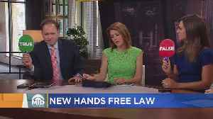 Hands-Free Law: What It All Means [Video]