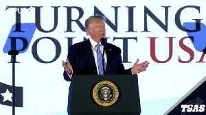 News video: Trump Calls Tlaib A 'Lunatic' Over Video From His Event