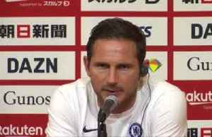 Lampard happy with Chelsea win over Barca [Video]