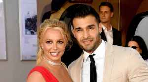 Britney Spears and boyfriend Sam Asghari make red carpet debut [Video]