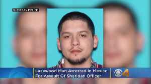Lakewood Man Arrested In Mexico, Ismael Rayos Allegedly Assaulted Sheridan Police Officer In 2015 [Video]