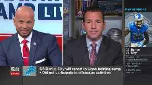 Ian Rapoport: Detroit Lions cornerback Darius Slay will report to Lions training camp [Video]
