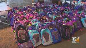 DaVita Among The Companies Helping With A Precious Child's Fill A Backpack Project [Video]