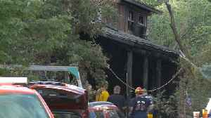 Woman Killed, Child Critically Injured After Cabin Catches Fire in Utah [Video]