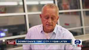 One year after Cincinnati's tent city, the search continues for solutions to address homelessness [Video]