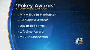 News video: Annual Pokey Awards Name NYC's Slowest Bus Line