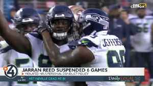 Seahawks' Jarran Reed suspended six games in 2019 by NFL [Video]