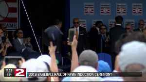 Relive the 2019 Baseball Hall of Fame induction ceremony [Video]
