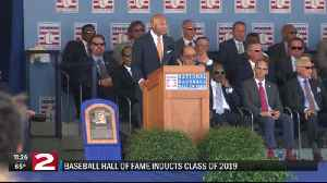 2019 Baseball Hall of Fame induction ceremony 11pm PKG [Video]
