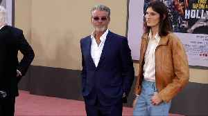 Pierce Brosnan, Dylan Brosnan 'Once Upon a Time in Hollywood' World Premiere Red Carpet [Video]
