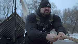 The Strongest Man in History: Pulling a 60,000 Pound Viking Ship [Video]