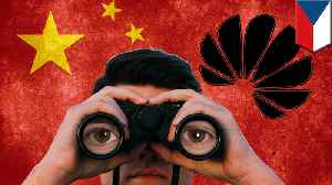 News video: Huawei's Czech unit collected personal data for Chinese embassy