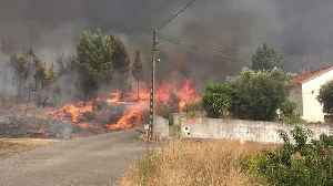 News video: Wildfires Under Control in Central Portugal, But Officials Warn of Ongoing Risk