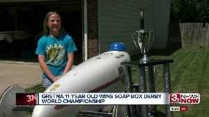 11-year old from Gretna wins Soap Box Derby World Championship [Video]