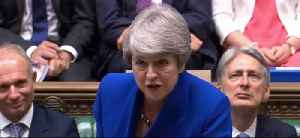 'Time for Him to Do the Same': Resigning May Delivers Parting Shot to Corbyn [Video]