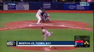 Boston Red Sox move pass Tampa Bay Rays into 2nd place in AL East for 1st time since March [Video]