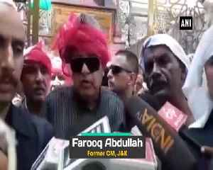 News video: Its a matter of happiness Farooq Abdullah on President Trump claims on Kashmir mediation