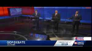GOP debate weeks before primary election day [Video]