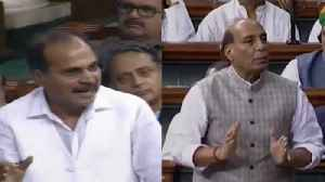 News video: Uproar in LS: Oppn insists PM Modi must clarify on Trump's Kashmir remark