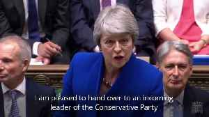 Theresa May defends Boris Johnson's record in final PMQs [Video]