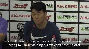 Son Heung-Min: Spurs deserve to win something [Video]
