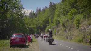 News video: Getting Airborne over World Famous Cycling Race