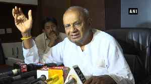 Devegowda accuses BJP of 'horse trading' after Cong-JD(S) coalition collapse [Video]
