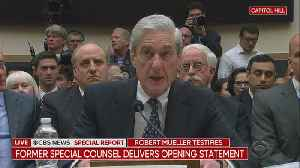 Robert Mueller Delivers Opening Statement To House Judiciary Committee [Video]