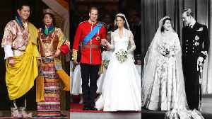 The Most Memorable Royal Weddings of All Time [Video]