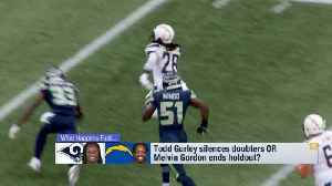 What happens first: Los Angeles Rams running back Todd Gurley bounces back or Los Angeles Chargers RB Melvin Gordon ends holdout [Video]