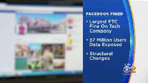 FTC Fines Facebook $5 Billion, Orders Changes On Privacy Protections [Video]