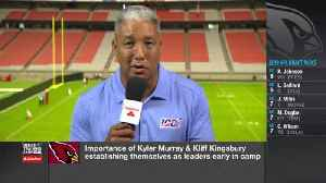 Steve Wyche breaks down Arizona Cardinals quarterback Kyler Murray's timeline at Cardinals training camp [Video]