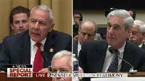 News video: Rep. Ken Buck, R-Colo., questions Robert Mueller about whether Trump can be charged once he leaves office