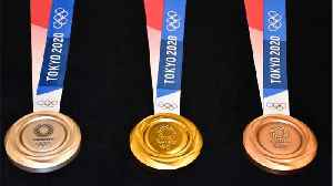 Tokyo 2020 Olympic Medals Made Of Recycled Cellphones [Video]