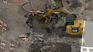 Hole Dug For Fort Lauderdale Water Main Break Was At Wrong Location [Video]