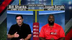 Coach's Corner: Joaquin Sample Central Chargers [Video]