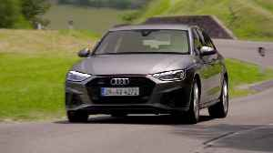 Audi A4 Avant TDI in Terra Grey Driving Video [Video]