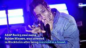 A$AP Rocky Charged With Assault In Sweden [Video]