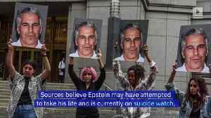 Jeffrey Epstein Found Semi-Conscious and Injured in Jail Cell [Video]