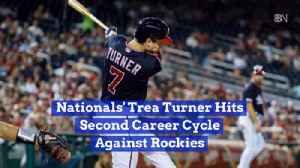Trea Turner's Performance Against The Colorado Rockies [Video]