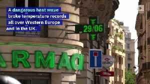 Paris Records Its Hottest Day Ever [Video]